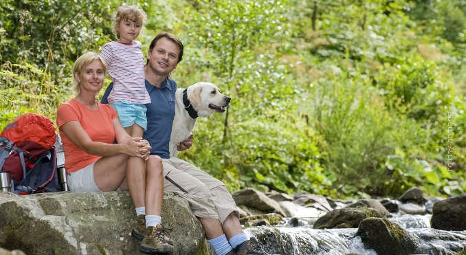 Familienausflug an die Plitvicer Seen mit Hund