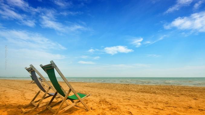 Abschalten am Strand