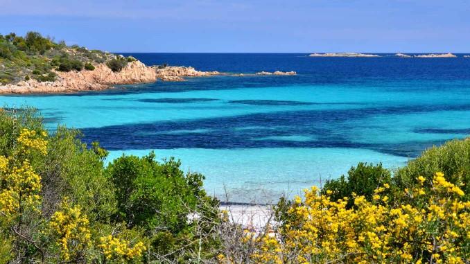Traumstrand an der Costa Smeralda auf Sardinien