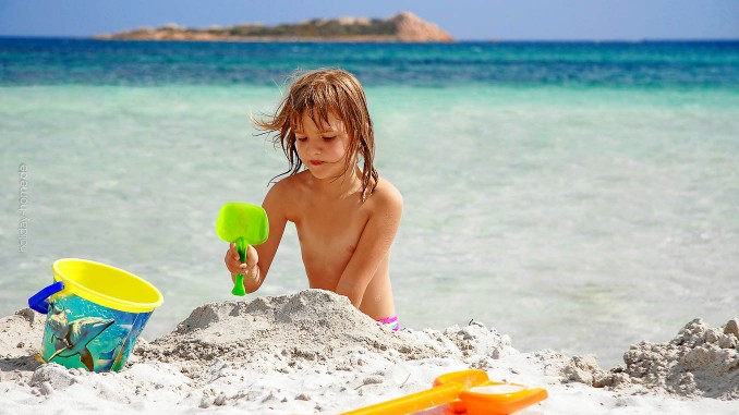 Paradies für Kinder: Sandstrände im Süden Sardiniens