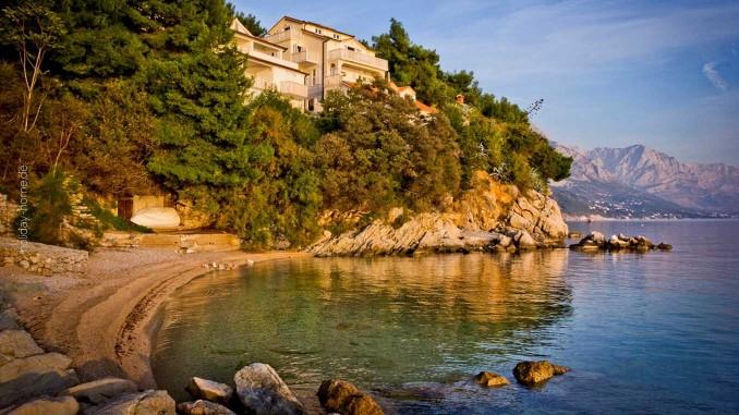 Wetter in Kroatien: Ferienhäuser in idyllischer Lage in Dalmatien
