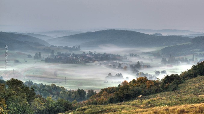 Malerisch: Der Übergang vom Herbst zum Winter in Kroatien