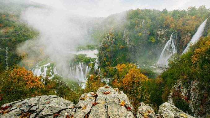 Auch im Herbst einen Ausflug wert: die Plitvitzer Seen