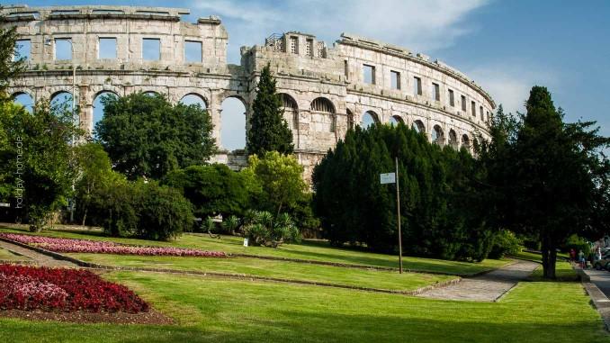 Der Besuch des Amphitheaters in Pula sollte auf keiner Kroatien-Reise fehlen