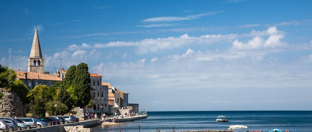 Porec in Istrien ist ein guter Ausgangspunkt für eine Kroatien-Reise