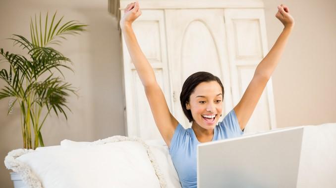 Urlaub online buchen macht glücklich