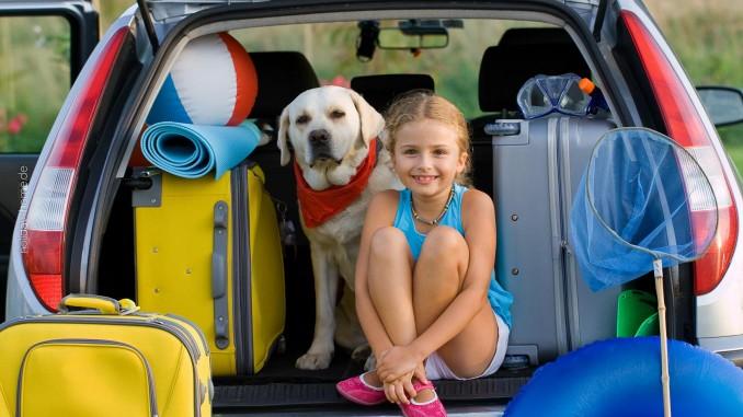 Wir sind fertig mit Koffer packen: die Reise kann losgehen